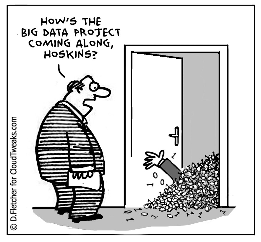 big data project cartoon