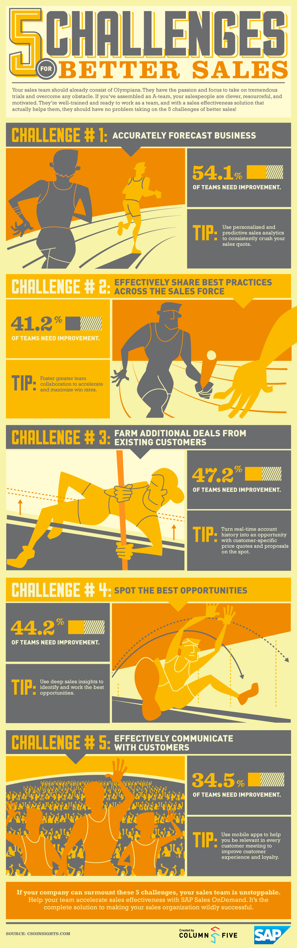 SAP Sales Effectiveness Infographic