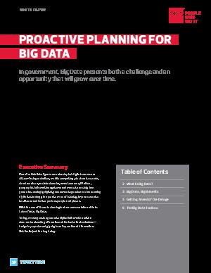 big-data-planning